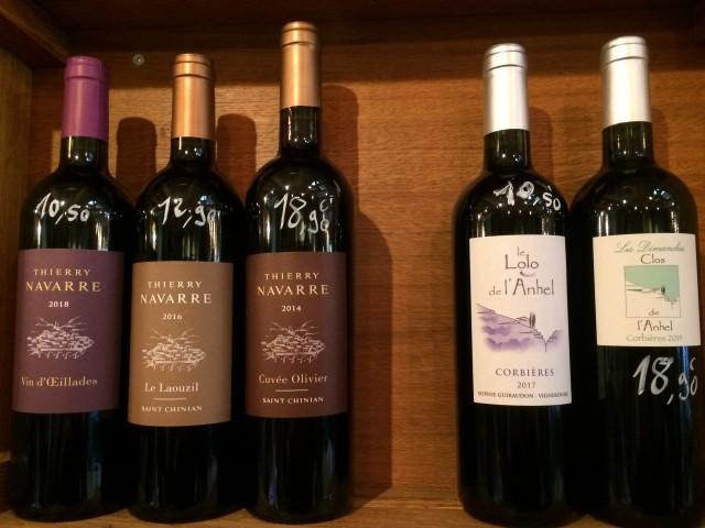 L'assiette du vin LA CAVE